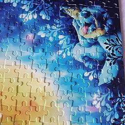 Amazon Co Jp 108ピース ジグソーパズル リトル マーメイド アリエル フラワー 18 2x25 7cm おもちゃ