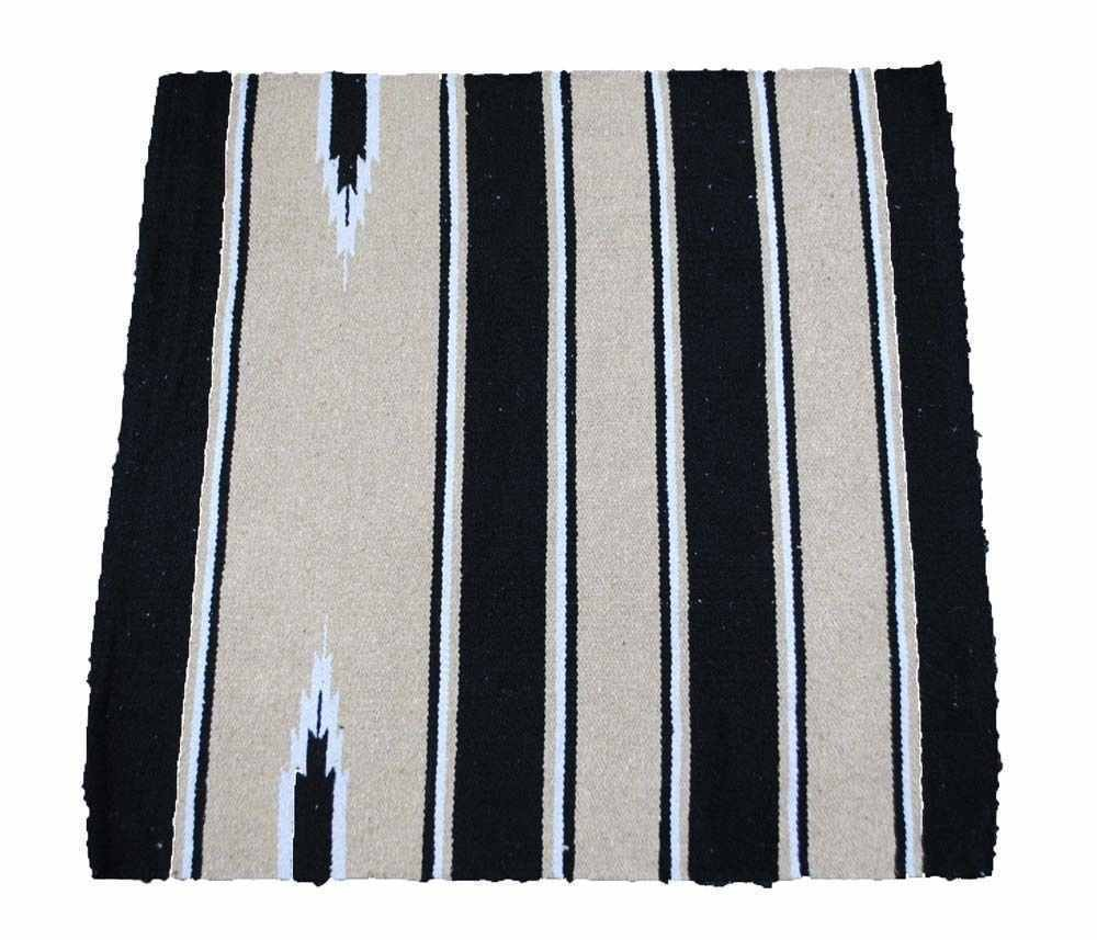 Northern Equestrian NEUF Selle Western/Tapis 81,3x 81,3cm Navajo 100% coton à la main Wooven