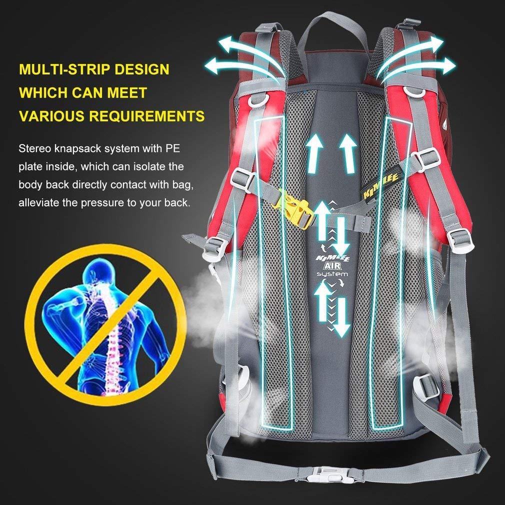 YTYC KIMLEE Outdoor Travel Waterproof Shoulder Bag Mountaineering Backpack 35L by YTYC