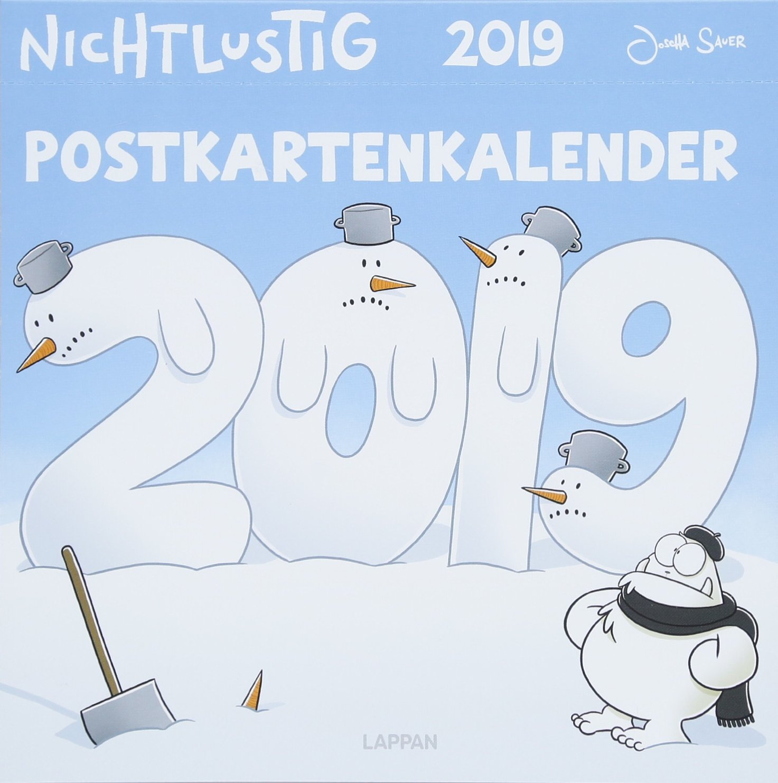 Nichtlustig Postkartenkalender 2019 Kalender – 31. Mai 2018 Joscha Sauer Lappan 3830377045 HUMOR / General