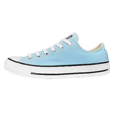 ecae3bdba70bc Converse All Star Bleu Ciel Basse  Amazon.fr  Chaussures et Sacs