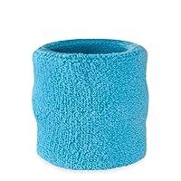 Suddora Wrist Sweatband - Athletic Cotton Terry Cloth Wristband For Sports
