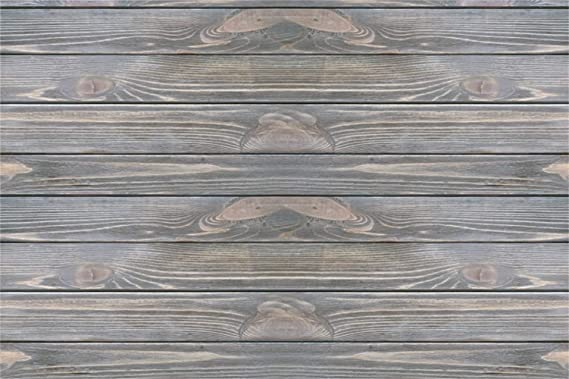 Polyester 7x5ft Grunge Asperous Lateral-Cut Wood Texture Plank Photography Background Shabby Rustic Faded Wooden Board Backdrop Children Adult Pets Artistic Portrait Shoot Wallpaper Studio