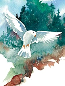 Note Cards - Wings of Peace Boxed Set of 20 Blank Cards and Envelopes - Made in USA