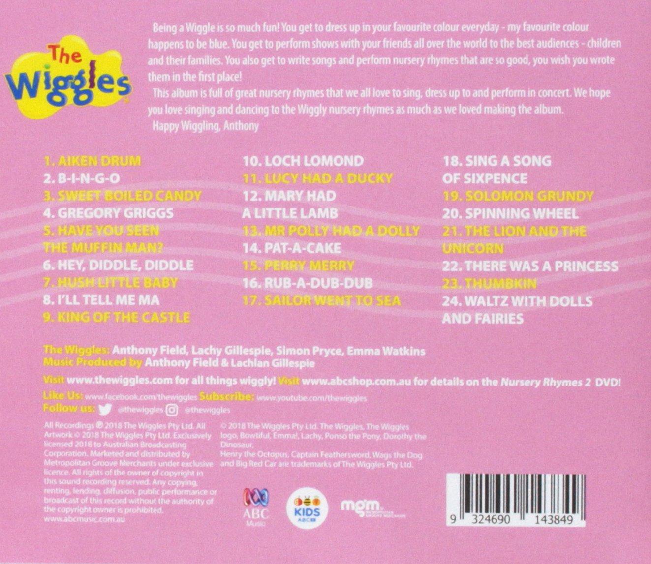 Nursery Rhymes 2: The Wiggles: Amazon.es: Música