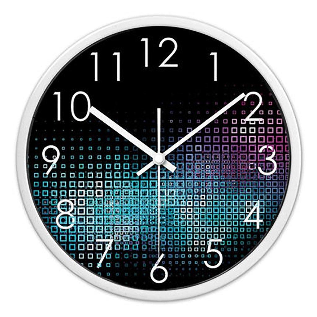 リビングルームクリエイティブ現代のクォーツ時計のベッドルーム静かなパーソナライズされたシンプルなファッションウォールクロック (色 : 2, サイズ さいず : L l) B07FPY1X2M L l|2 2 L l