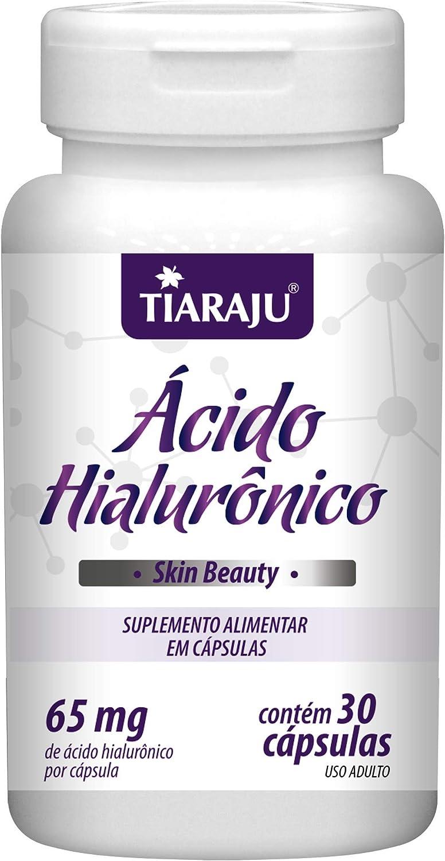 Ácido Hialurônico 30 cápsulas Tiaraju (contém 65mg de ácido H. por cápsulas) por TIARAJU