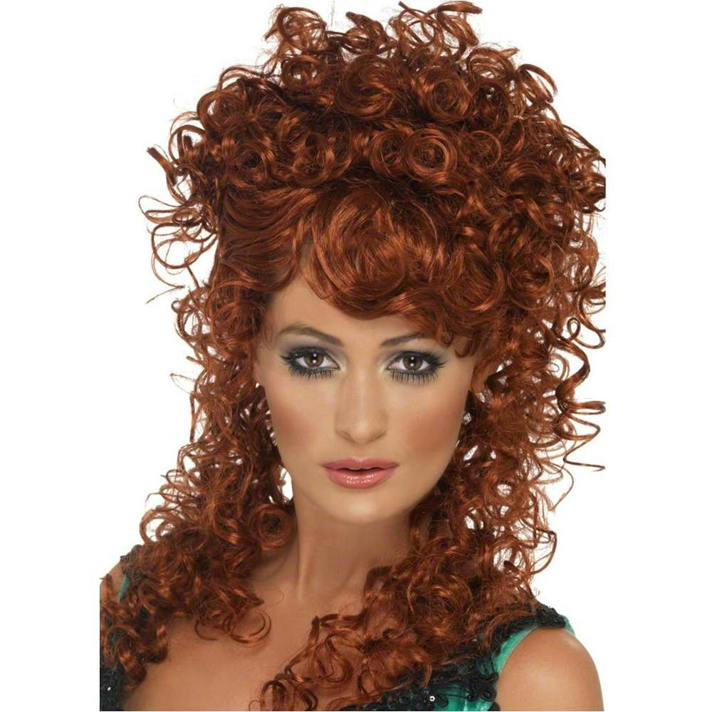 Saloon Girl Wig Costume Accessory