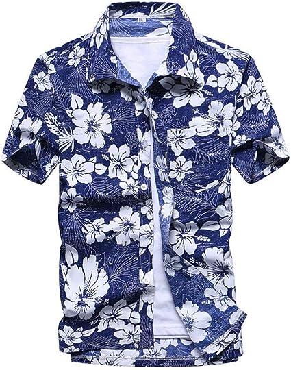 Camisa de Playa Ropa de Calle de Verano para Hombres Camisa ...