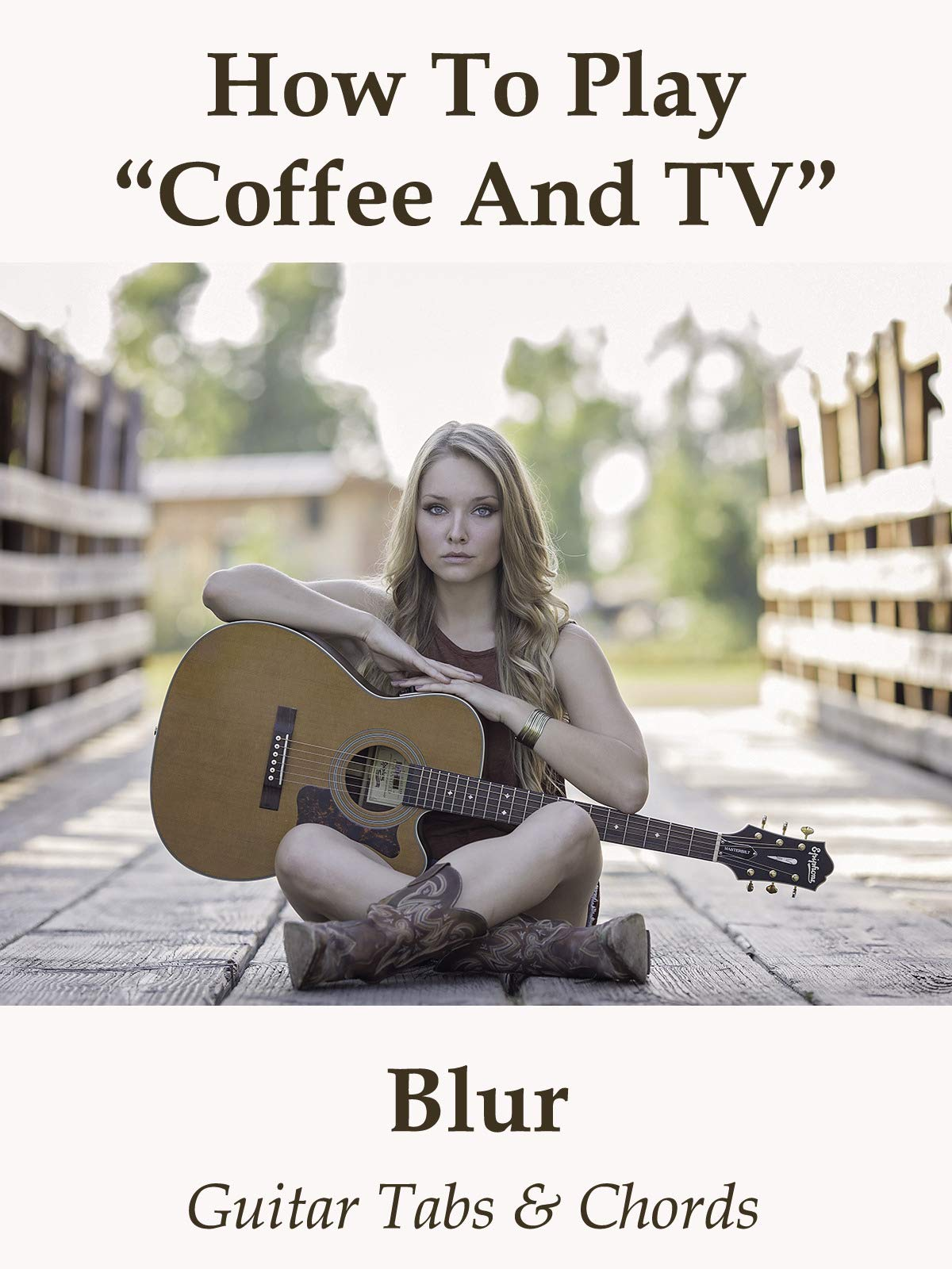 Amazoncom How To Playcoffee And Tv By Blur Guitar Tabs