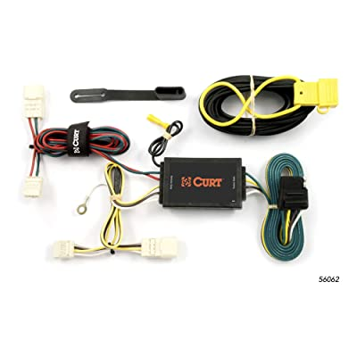 CURT 56062 Vehicle-Side Custom 4-Pin Trailer Wiring Harness for Select Scion xB: Automotive