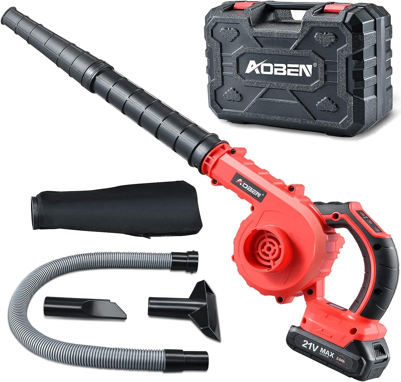 Aoben 150MPH Cordless Electric Leaf Blower & Vacuum  $39.99 Coupon