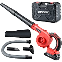 AOBEN Cordless Leaf Blower with Battery & Charger, Powerful Leaf Blower 150 MPH for Yard Clean/Lawn Care/Garage…