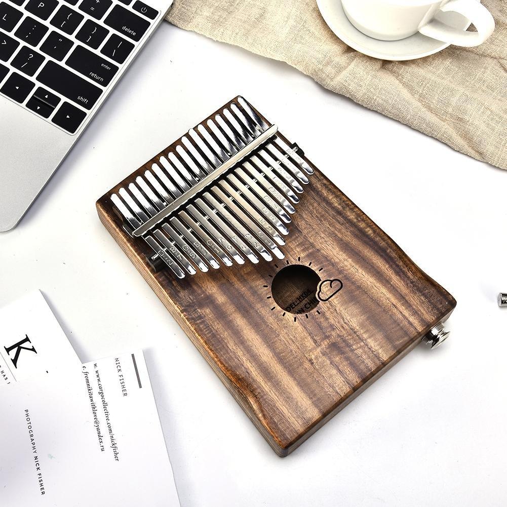 Kalimba 17 llaves Piano Piano Kalimba Songbook y tuning Hammer y picos del pulgar para Mbira Sanza instrumento de pulgar - fancylande: Amazon.es: Bricolaje ...