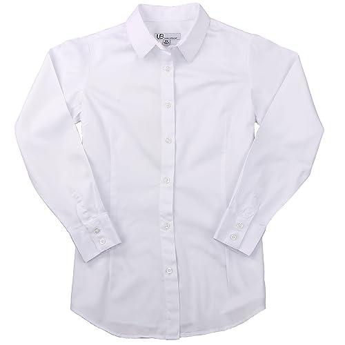 Women's 100% Cotton Classic Long Sleeve Shirt