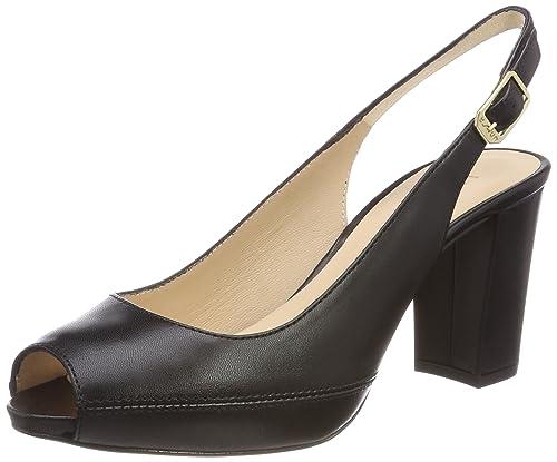 Unisa Numar_18_KS, Zapatos de Tacón para Mujer, Negro (Black), 39 EU