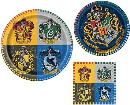 Amazon.com: Harry Potter Set de vajilla de fiesta infantil ...