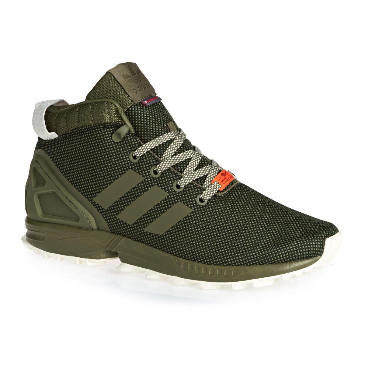 Adidas ZX Flux 5/8 TR, Zapatillas para Hombre 46.5 EU|Green