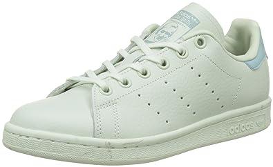 adidas Stan Smith, Baskets garçon, Vert Linen Tactile Green, 36 EU