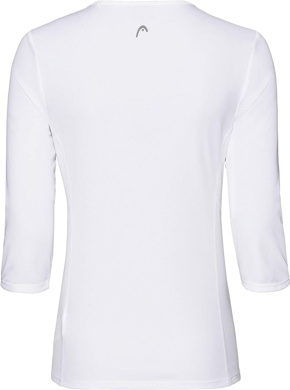 HEAD Damen Club Tech 3//4 Shirt W T