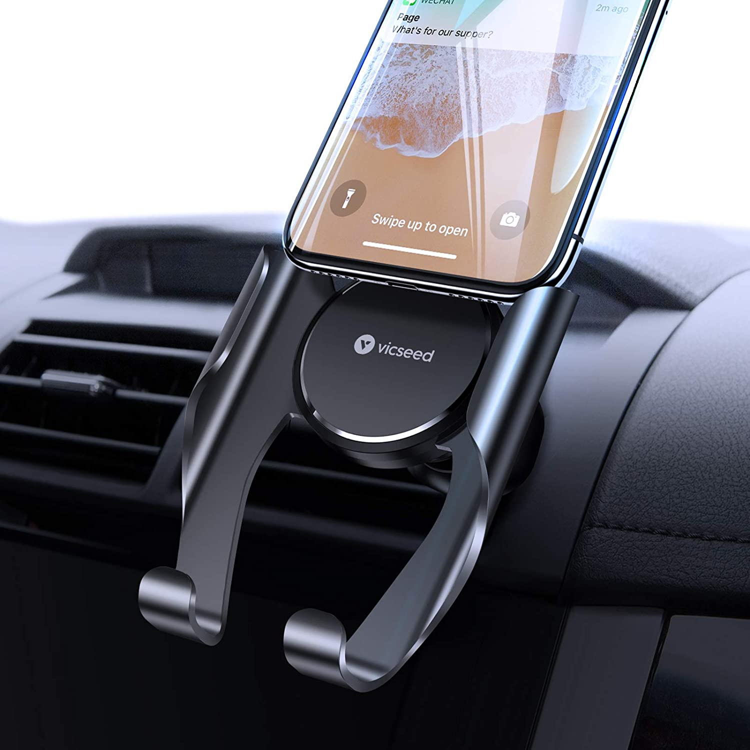 Amazon Com Vicseed Car Phone Mount Air Vent Phone Holder For Car Handsfree Cell Phone Car Mount Fit For Iphone 12 Pro Max Mini Se 11 Pro Max Xr Xs Max Xs X