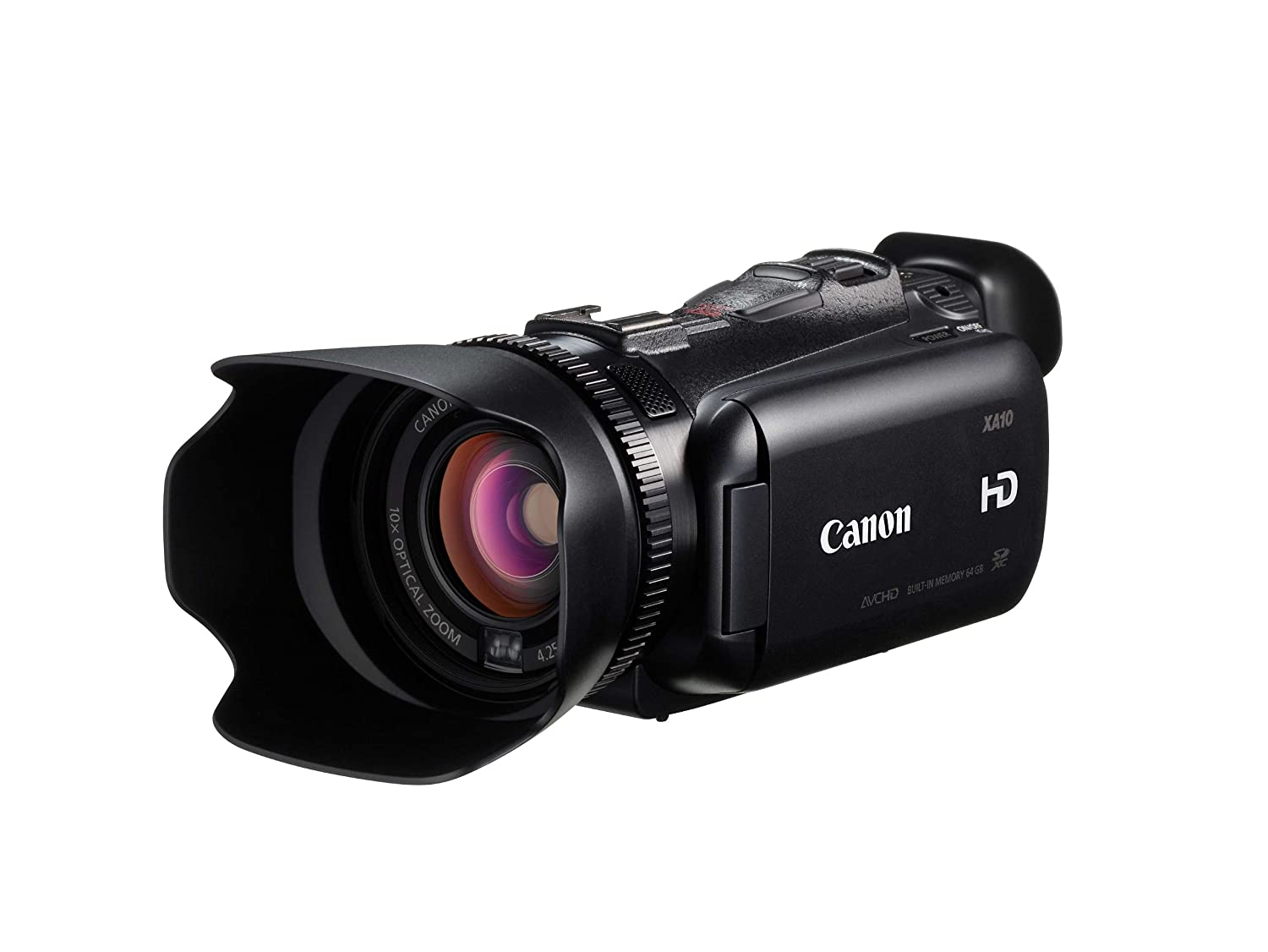 amazon com canon xa10 professional camcorder with 64gb internal rh amazon com Canon XA10 vs XF100 Canon XF105