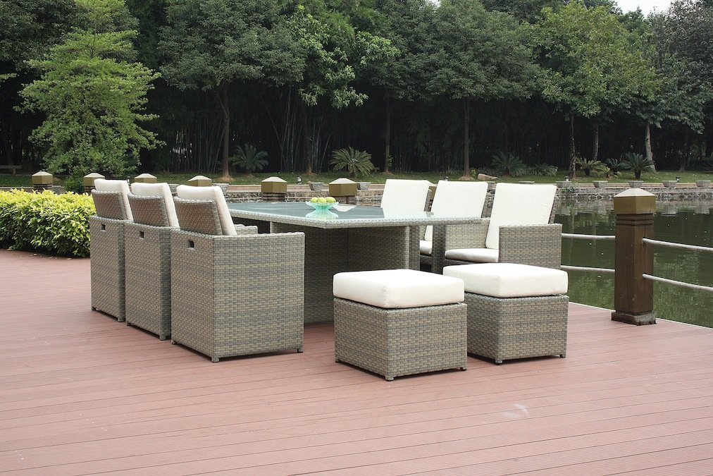 Talfa Polyrattan Gartenmobel Lounge Bodiner 6 4 Grau Jetzt Kaufen