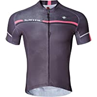 SANTIC Men's Cycling Jersey Bike Bicycle Short Sleeve Bike Shirt Breathable Jacket Quick Dry