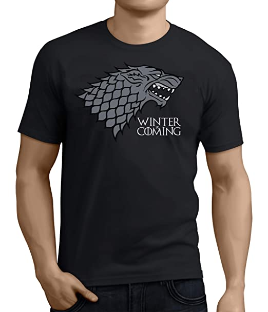 The Dragon /& The Wolf Game of Thrones Season 8 T-Shirt Mens Unisex Black