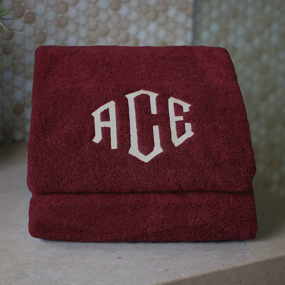 1888 Mills Personalized Monogrammed Bath Towels