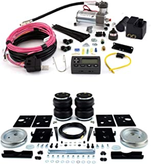 product image for Air Lift 57289 72000 Rear Set of Load Lifter 5000 Series Air Springs with Wireless AIR Dual Path On-Board Air Compressor System Bundle for Dodge Ram 2500