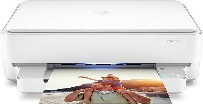 Hp Envy 6052 Impresora De Inyección De Tinta Inalámbrica Todo En Uno Impresión Móvil Escaneo Y Copia Tinta Instantánea Lista 5se18a Renovada Electronics