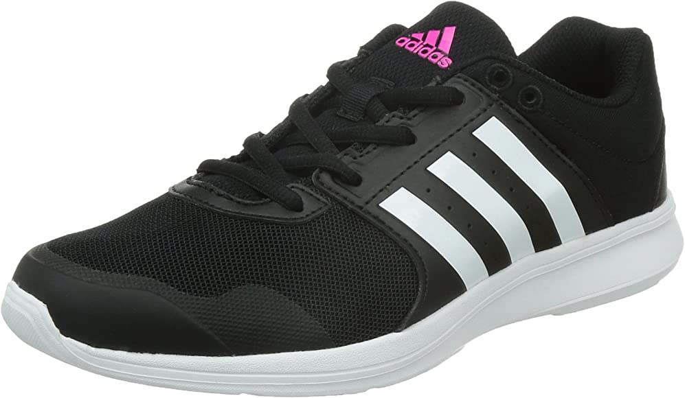 adidas Essential Fun 2, Zapatillas de Gimnasia para Mujer, Multicolor (Core Black/FTWR White/Shock Pink), 38 EU: Amazon.es: Zapatos y complementos