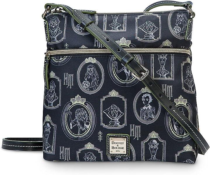 166c77ebc38 Dooney   Bourke Disney Haunted Mansion Nylon Crossbody Bag  Handbags   Amazon.com