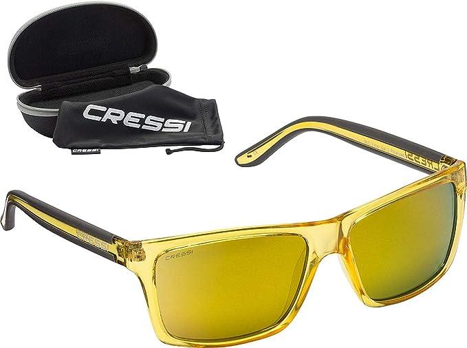 Cressi Rio Sunglasses Gafas de Sol Deportivo Polarizados, Unisex Adulto
