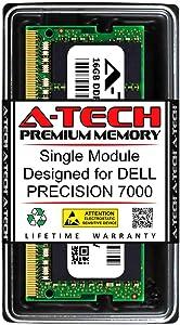 A-Tech 16GB RAM for DELL Precision 7000 | DDR4 2400MHz SODIMM PC4-19200 260-Pin Non-ECC Memory Upgrade Module
