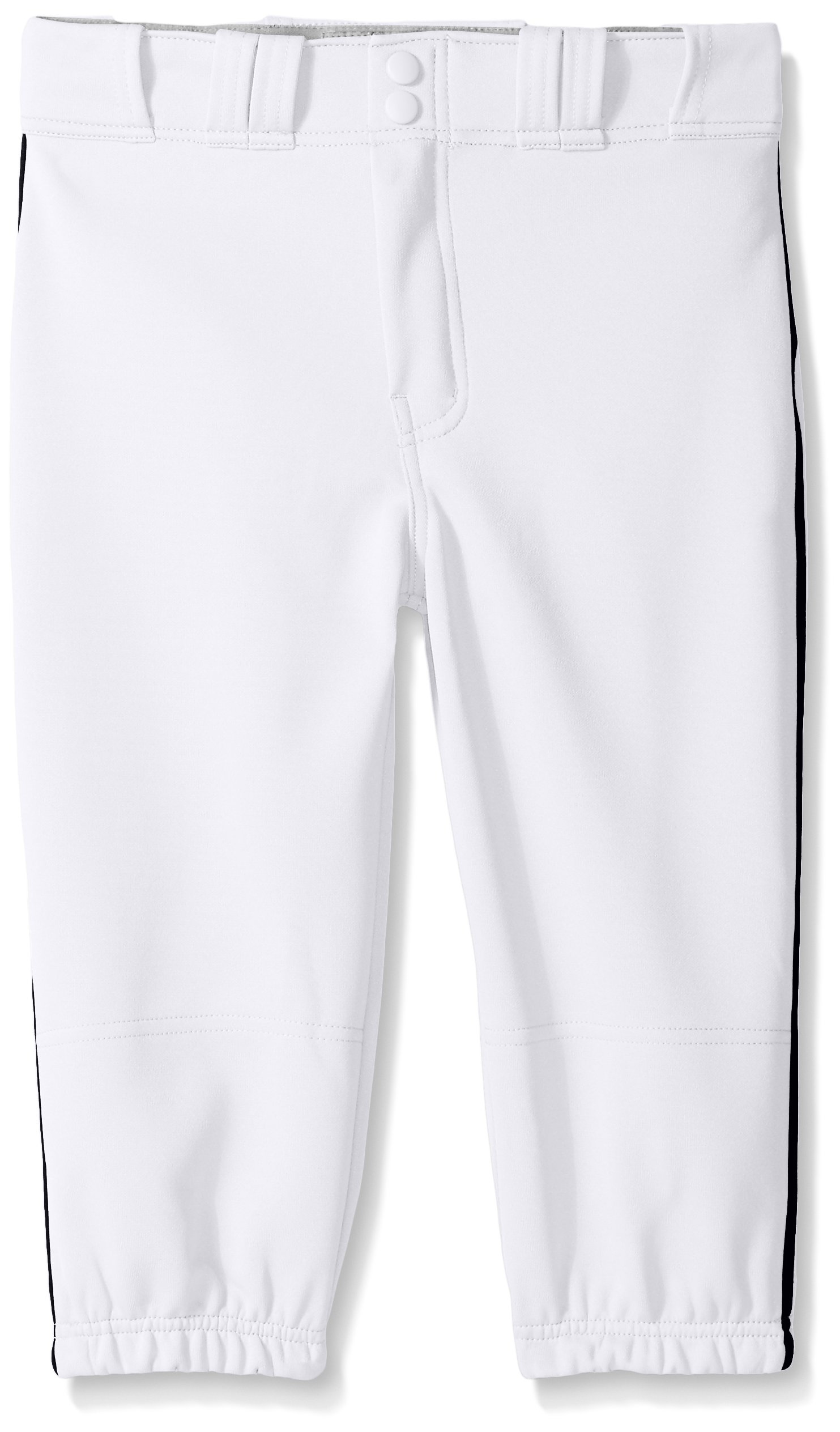 Easton Boys PRO Plus Piped Knicker, White/Black, Youth Small(YS) by Easton