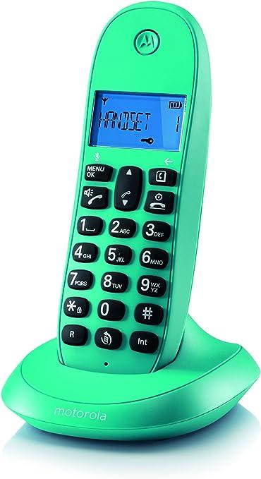Motorola MOT31C1001TU, Teléfono Inalámbrico: Amazon.es: Electrónica