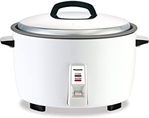 Panasonic SR-GA421FH 23 Cup Commercial Automatic Rice Cooker with Non-Stick Pan, White