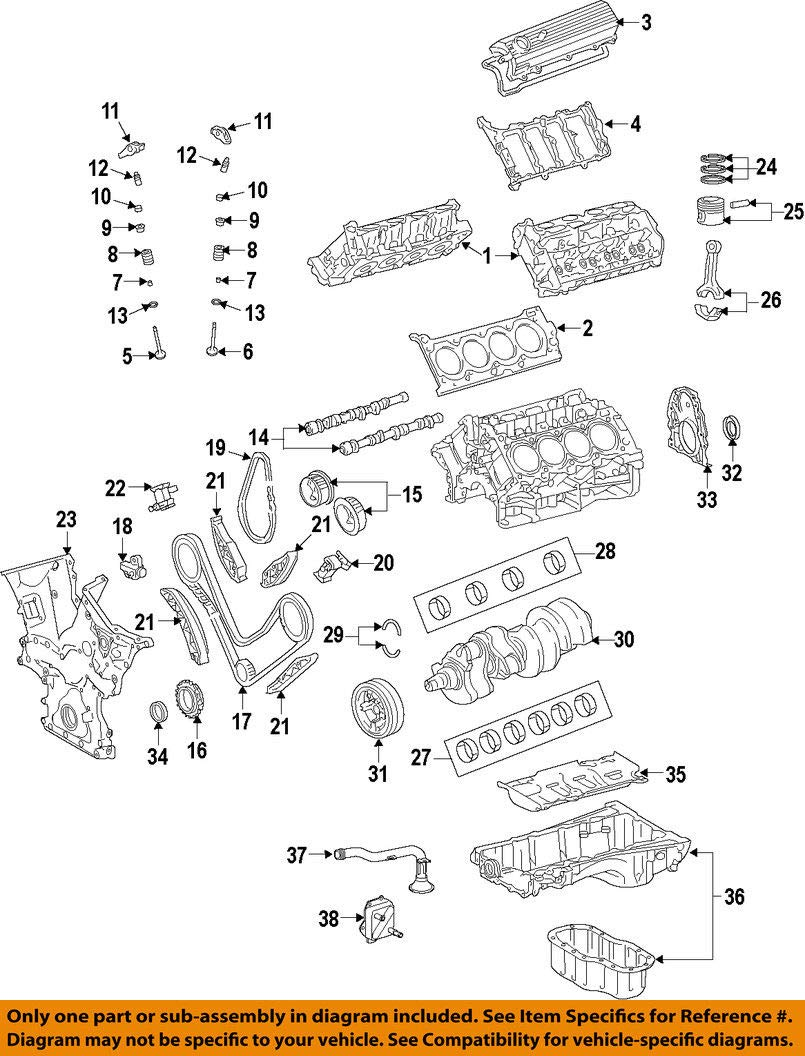 Toyota 11201-0S011 Cylinder Head Cover Sub Assembly