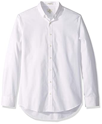 4a85e6fd GANT Men's The Pinpoint Oxford Regular Fit at Amazon Men's Clothing store: