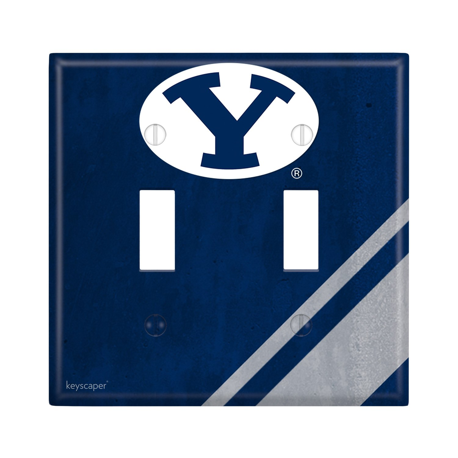 Brigham Young University Double Toggle Light Switch Cover NCAA