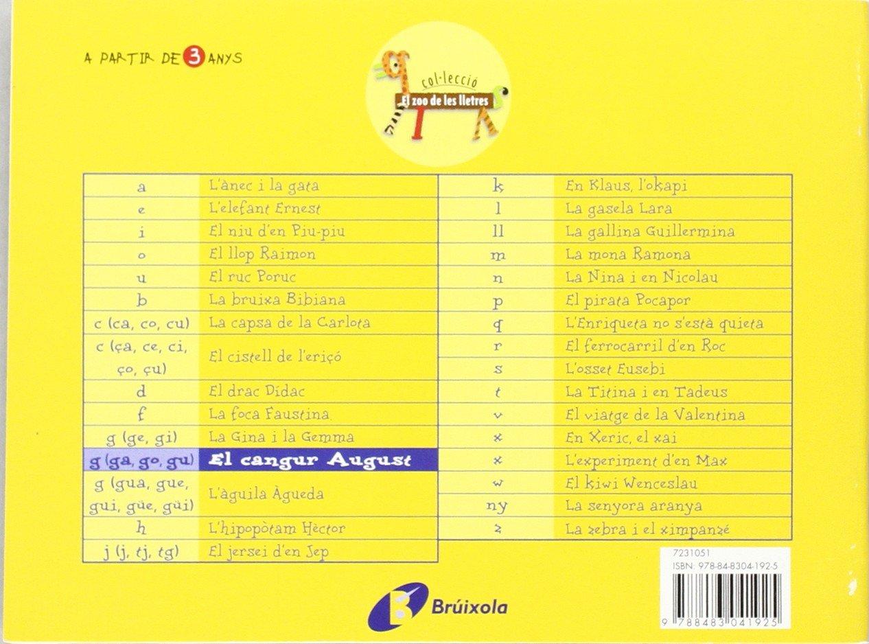 El cangur August ga, go, gu : Juga amb la g ga, go, gu Catalá - A Partir De 3 Anys - Llibres Didàctics - Zoo De Les Lletres: Amazon.es: Beatriz Doumerc, ...