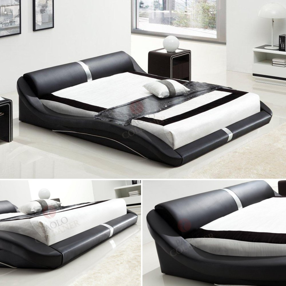 Designer bett 140x200  i-flair® - Designer Bett 140x200 cm Paola Schwarz #58: Amazon.de ...