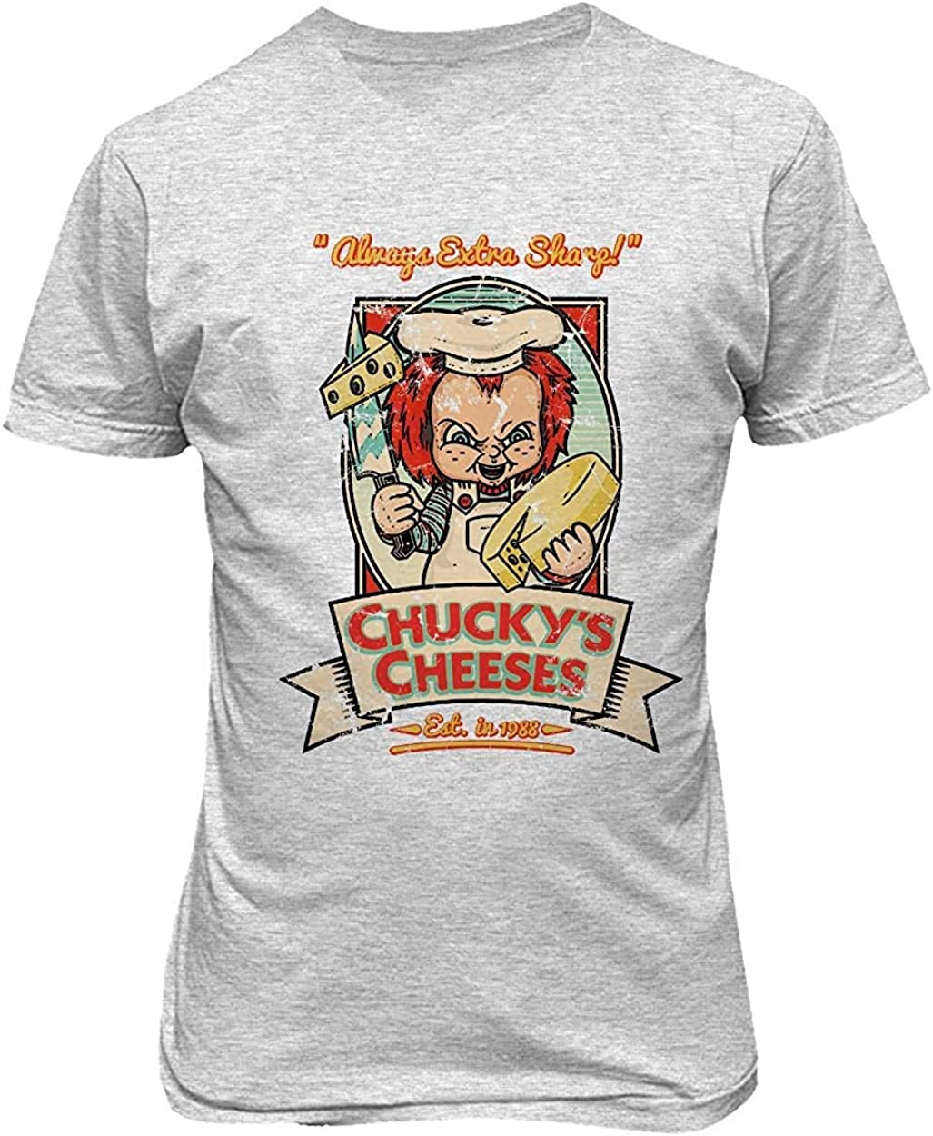 Mbefore Nueva Camisa de la Novedad Chucky Cheeses ...