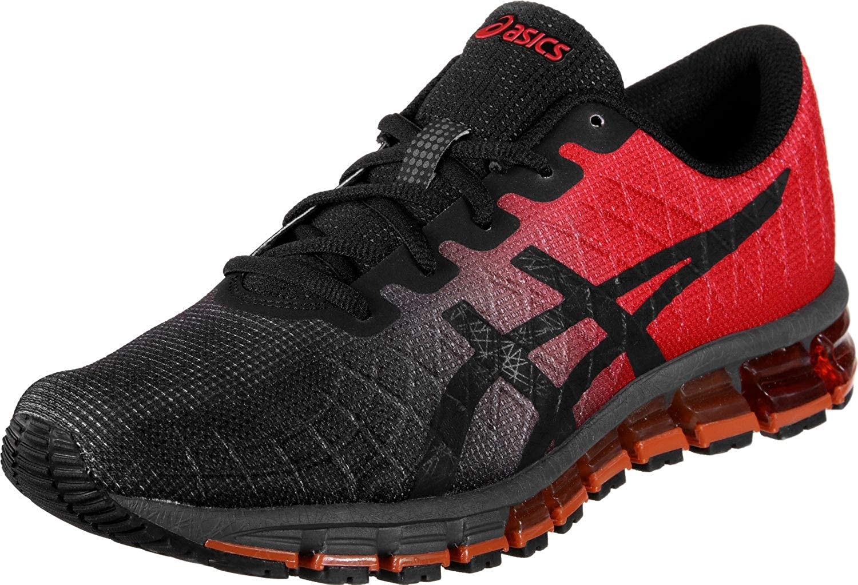 Rouge (Classic rouge noir 600) 44 EU ASICS Gel-Quantum 180 4, Chaussures de FonctionneHommest Mixte Adulte