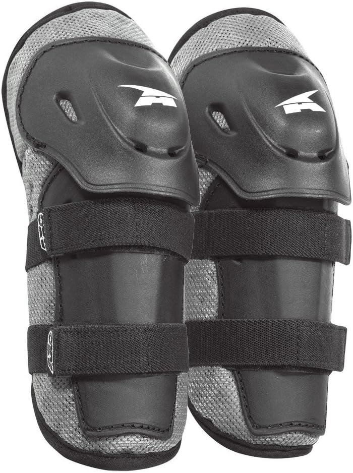 Black//Gray, One size AXO PeeWee Knee Guard