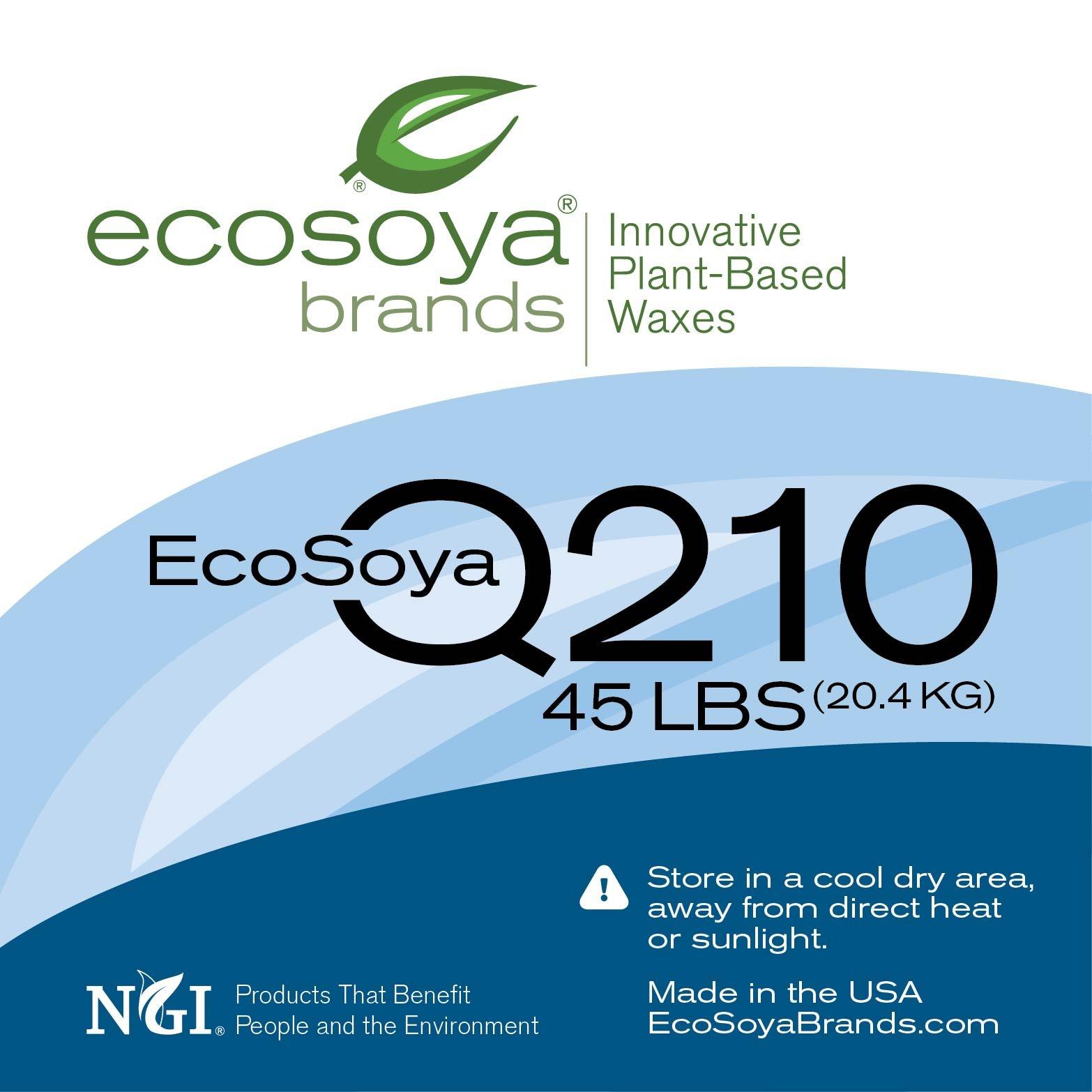 EcoSoya Q210 (CB-Advanced) Wax - 45 pound case, priced per case