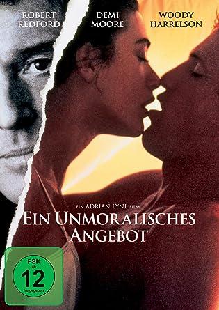 Ein Unmoralisches Angebot Amazonde Robert Redford Demi Moore