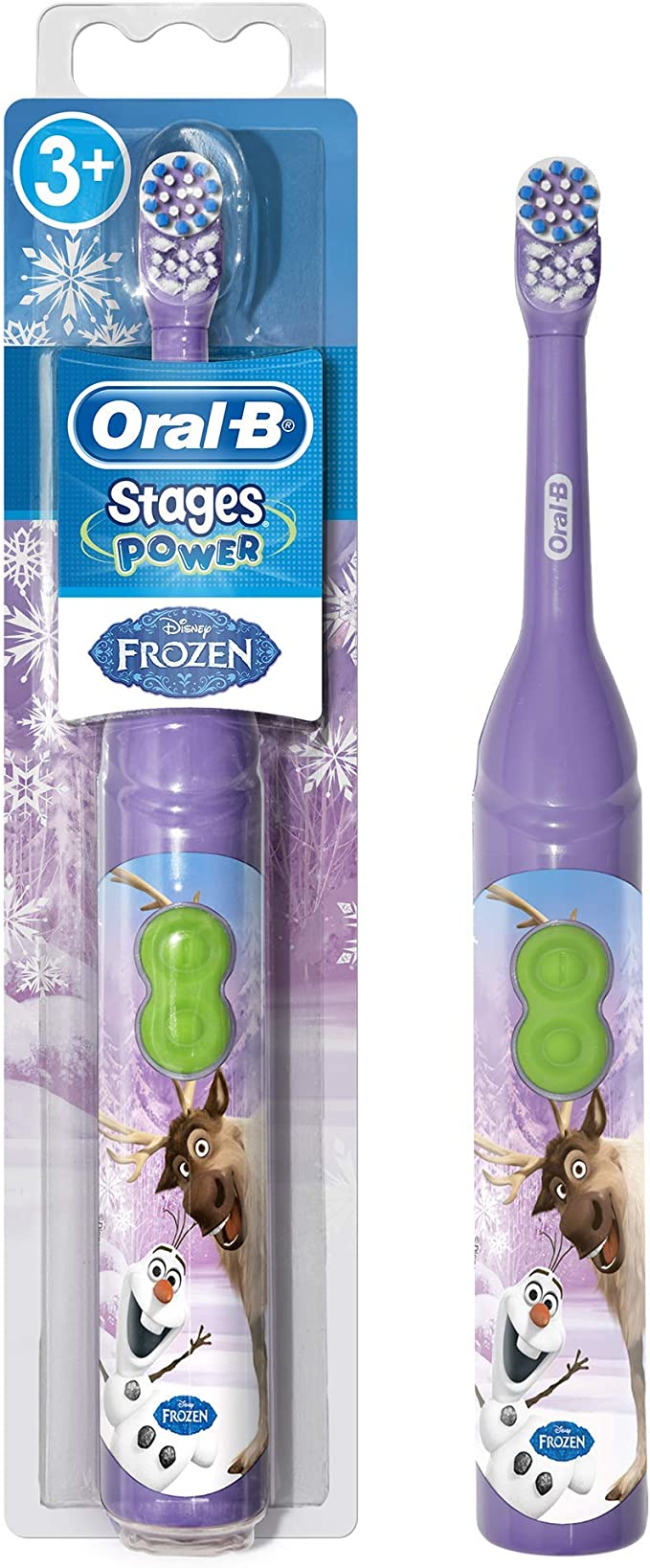 4 Oral B Spazzole Stages Power Frozen FROZEN OralB SPAZZOLINO